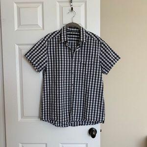 Kenneth Cole Men's short sleeve shirt, SZ M